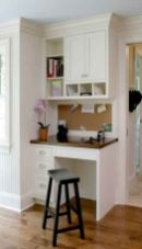 Awesome Built In Cabinet and Desk for Home Office Inspirations 51