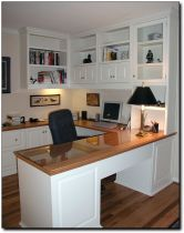 Awesome Built In Cabinet and Desk for Home Office Inspirations 58