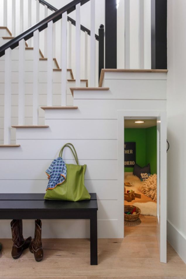 Awesome Cool Ideas To Make Room Under Stairs 36