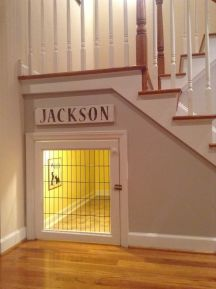 Awesome Cool Ideas To Make Dog House Under Stairs 6