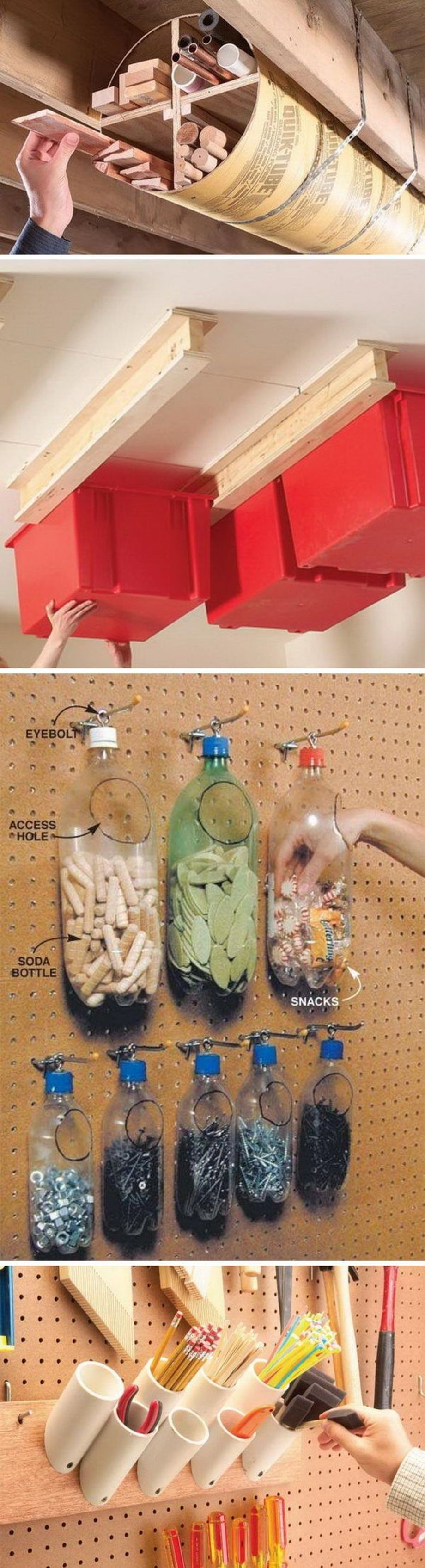 Best Garage Organization and Storage Hacks Ideas 1
