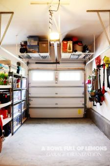 Best Garage Organization and Storage Hacks Ideas 70