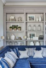 Brilliant Built In Shelves Ideas for Living Room 24