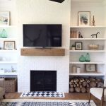 Brilliant Built In Shelves Ideas for Living Room 32