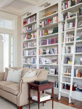 Brilliant Built In Shelves Ideas for Living Room 36