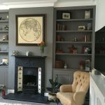 Brilliant Built In Shelves Ideas for Living Room 44