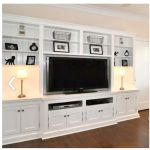 Brilliant Built In Shelves Ideas for Living Room 45