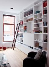 Brilliant Built In Shelves Ideas for Living Room 50