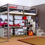 Cool Loft Bed Design Ideas for Small Room 24