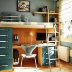 Cool Loft Bed Design Ideas for Small Room 32