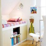 Cool Loft Bed Design Ideas for Small Room 47