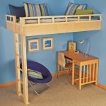 Cool Loft Bed Design Ideas for Small Room 54