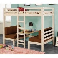 Cool Loft Bed Design Ideas for Small Room 58