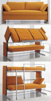 Cool Loft Bed Design Ideas for Small Room 60