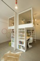 Cool Loft Bed Design Ideas for Small Room 61