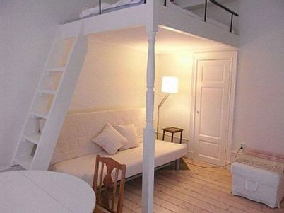 Cool Loft Bed Design Ideas for Small Room 88