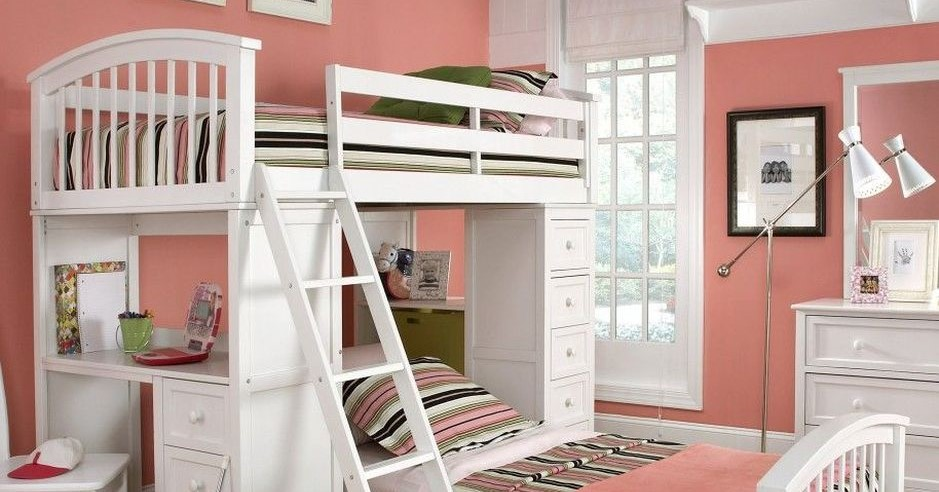 Cool Loft Bed Design Ideas for Small Room - Rockindeco