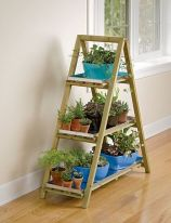 Cool Plant Stand Design Ideas for Indoor Houseplant 29