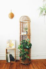 Cool Plant Stand Design Ideas for Indoor Houseplant 36