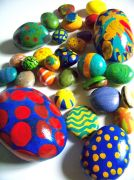 Creative DIY Easter Painted Rock Ideas 66