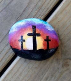 Creative DIY Easter Painted Rock Ideas 68