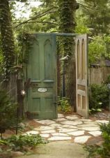 Fascinating Garden Gates and Fence Design Ideas 13