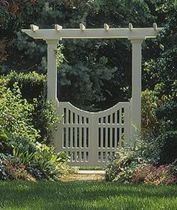 Fascinating Garden Gates and Fence Design Ideas 21