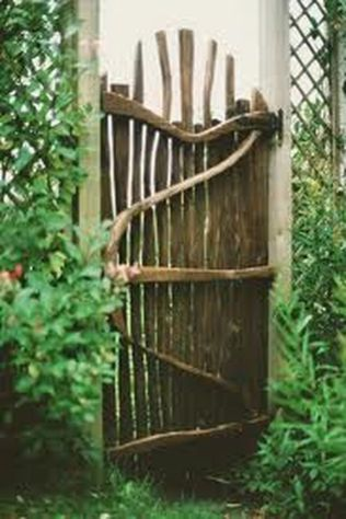 Fascinating Garden Gates and Fence Design Ideas 28