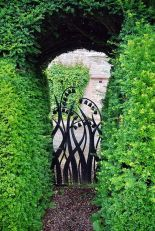 Fascinating Garden Gates and Fence Design Ideas 52