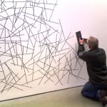 Inspiring Creative DIY Tape Mural for Wall Decor 12