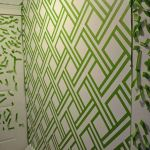Inspiring Creative DIY Tape Mural for Wall Decor 21
