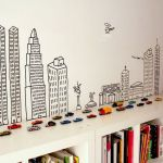 Inspiring Creative DIY Tape Mural for Wall Decor 39