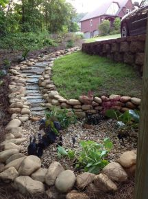 Inspiring Dry Riverbed and Creek Bed Landscaping Ideas 14