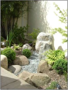 Inspiring Dry Riverbed and Creek Bed Landscaping Ideas 46