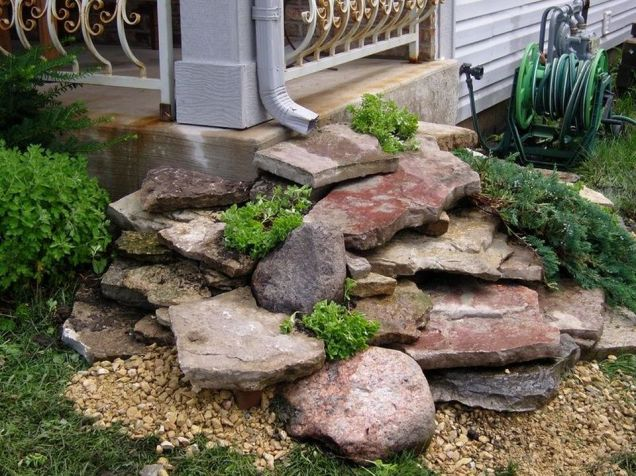 Inspiring Dry Riverbed and Creek Bed Landscaping Ideas 56