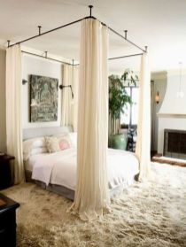 Lovely Romantic Bedroom Decorations for Couples 50