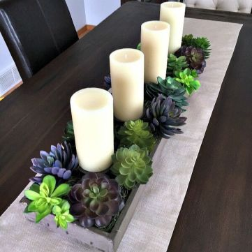 Spring Home Table Decorations Center Pieces 19