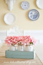 Spring Home Table Decorations Center Pieces 23