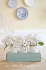 Spring Home Table Decorations Center Pieces 35