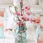 Spring Home Table Decorations Center Pieces 61