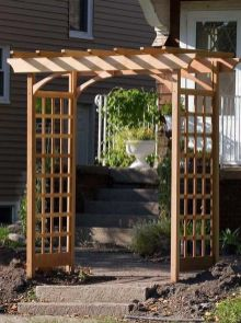 Stunning Creative DIY Garden Archway Design Ideas 22