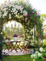 Stunning Creative DIY Garden Archway Design Ideas 29