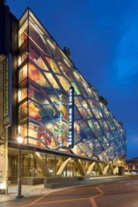 Stunning Glass Facade Building and Architecture Concept 7
