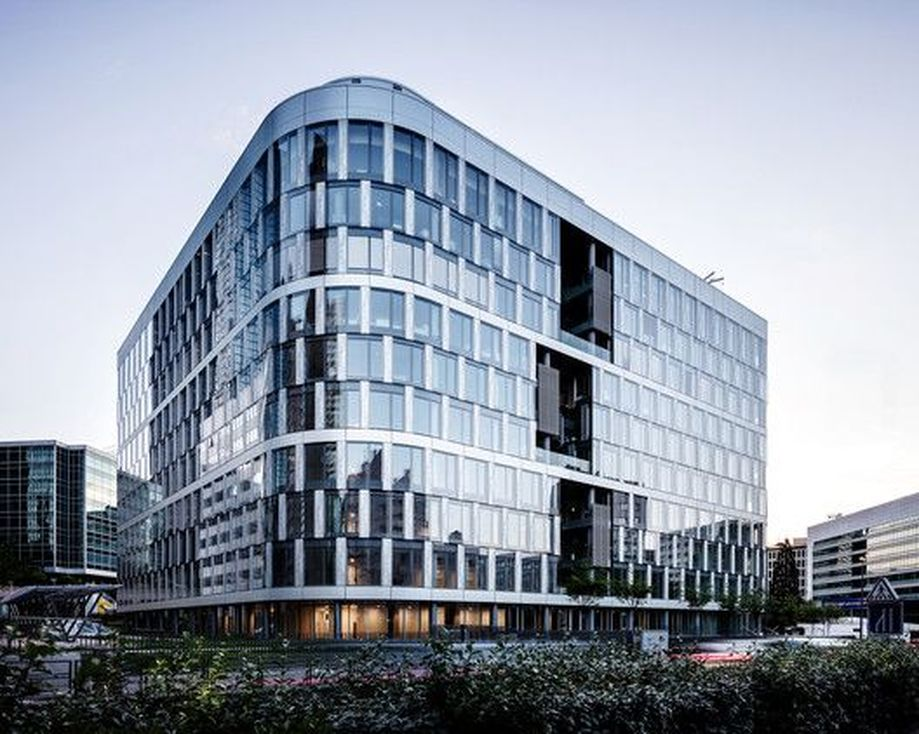 Stunning Glass Facade Building and Architecture Concept 1