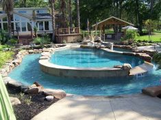 Stunning Outdoor Pool Landscaping Designs 7