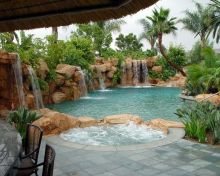 Stunning Outdoor Pool Landscaping Designs 88