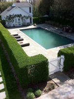 Stunning Privacy Fence Line Landscaping Ideas 66
