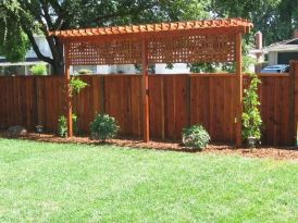 Stunning Privacy Fence Line Landscaping Ideas 75