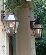 Vintage Hanging Gas Lanterns for Front Door Decorations 29