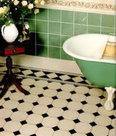 Vintage and Classic Bathroom Tile Design 43
